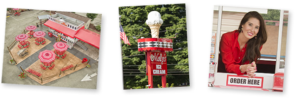 mollys ice cream photos